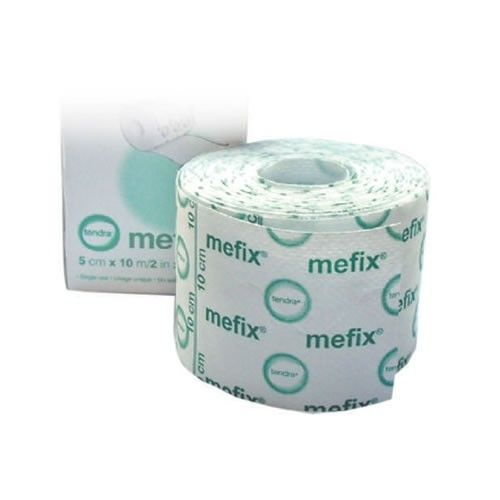 Dressing retention tape. A must have in your first aid kit. Also called Hypafix. I like the Mefix better, same good quality and a lot cheaper than the Hypafix.