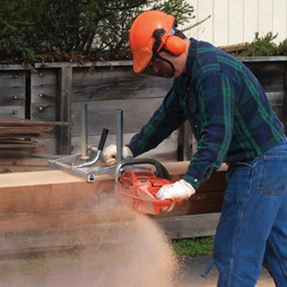 """Carmyra Portable Chainsaw mill 36"""" Inch Planking Milling"""