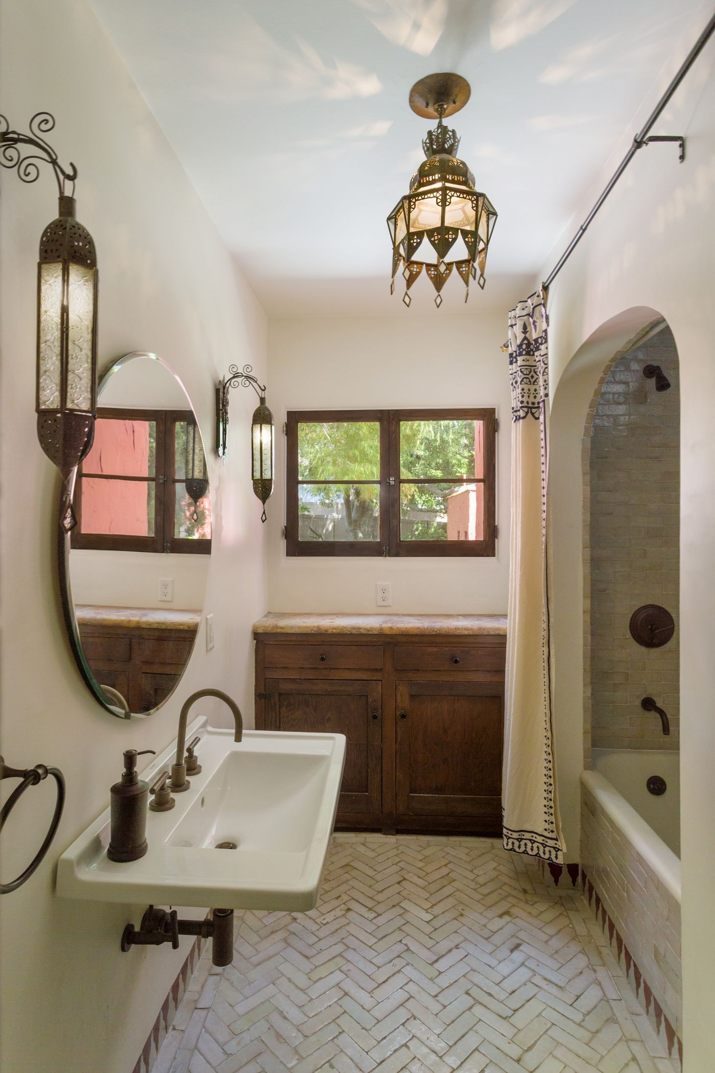 Photo of Spanish-style house oozes charm and color for $875K in Glendale