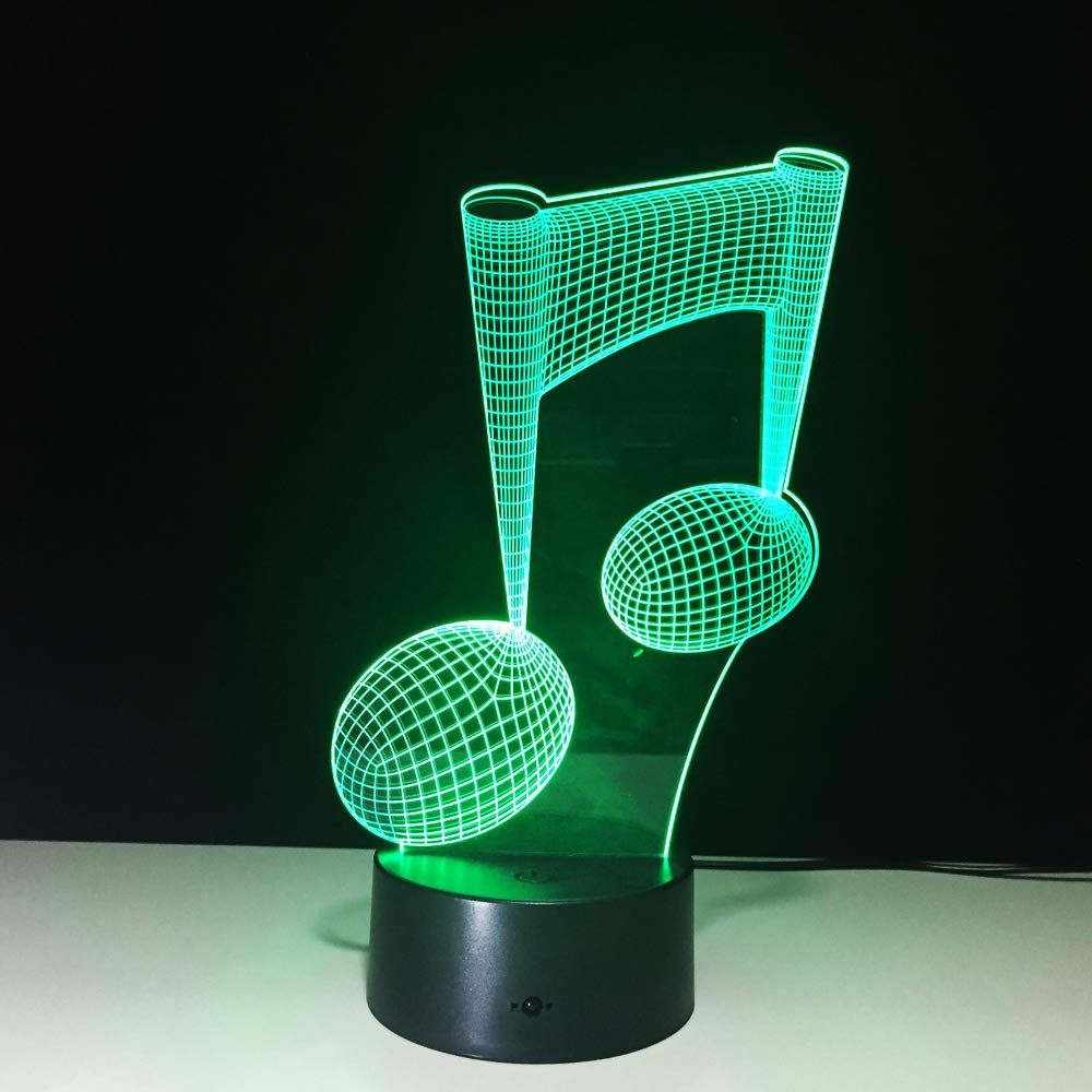 3d Lamp Desk Ephvan 3d Music Visualization 7 Colors Change Optical Illusion Led Touch Sensor Lamp Atmosp 3d Led Night Light Color Changing Led Led Night Light