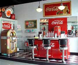 Soda Fountain Diner Miniature Rooms Amp Displays Soda