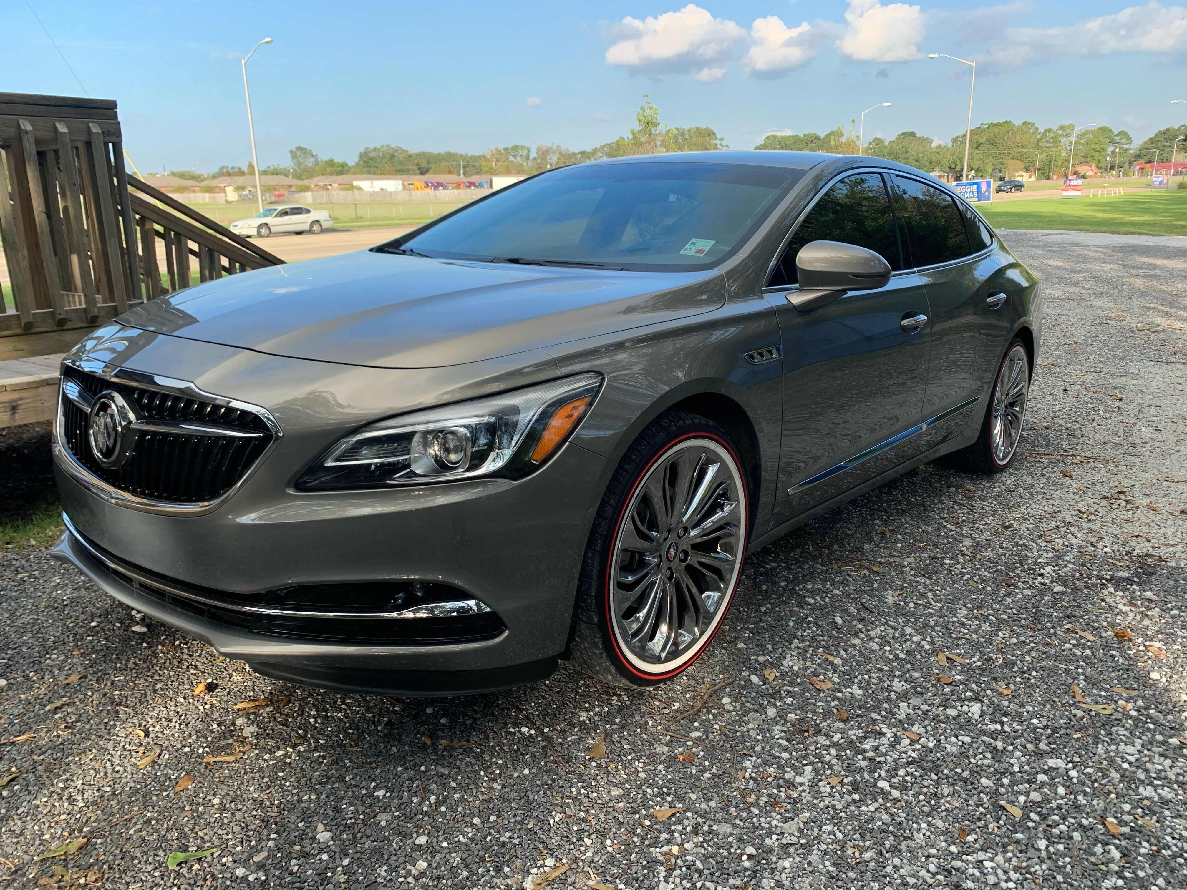 Beautiful 2018 Buick Lacrosse On 20inch Red Line Tyres Buick Redlines Redstripes Buick Lacrosse Luxury Cars Buick