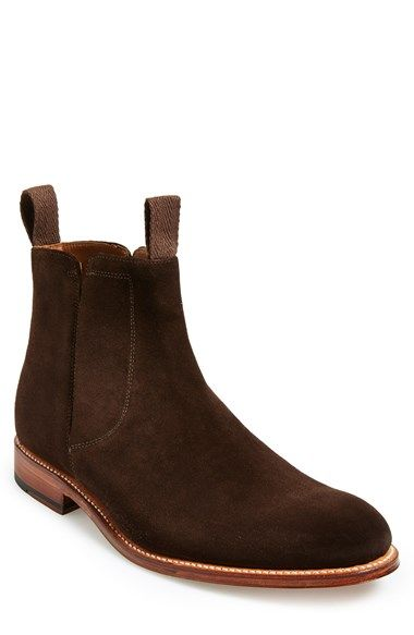 17f96f2f8e9 Free shipping and returns on Grenson  Flynn  Suede Chelsea Boot (Men) at  Nordstrom.com. Hidden elastic gussets ensure a sharp look in a versatile  Chelsea ...
