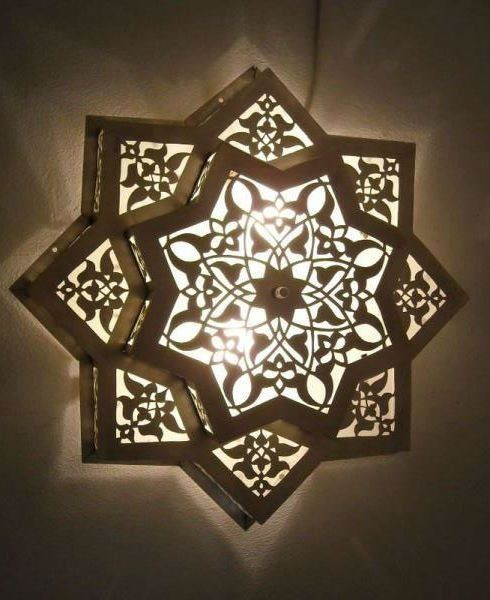 Islamic Art Islamic Art Pinterest Islamic Art Islamic And - Carved wood lace like lighting design inspired islamic decoration patterns