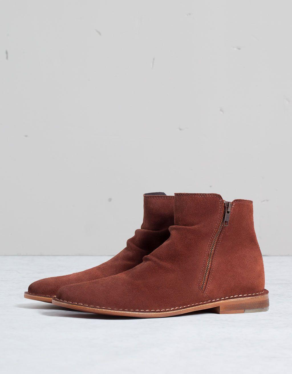 Suede Chelsea Boots In Tan - Tan Bershka Newest PeU9Cqoq