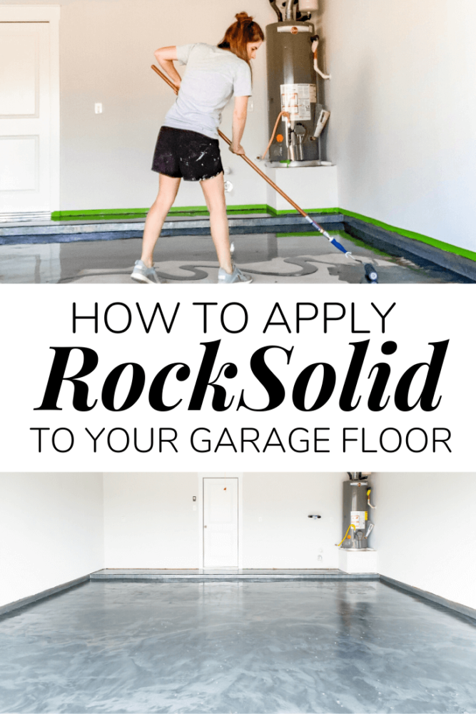 How to apply a DIY epoxy floor coating in your garage