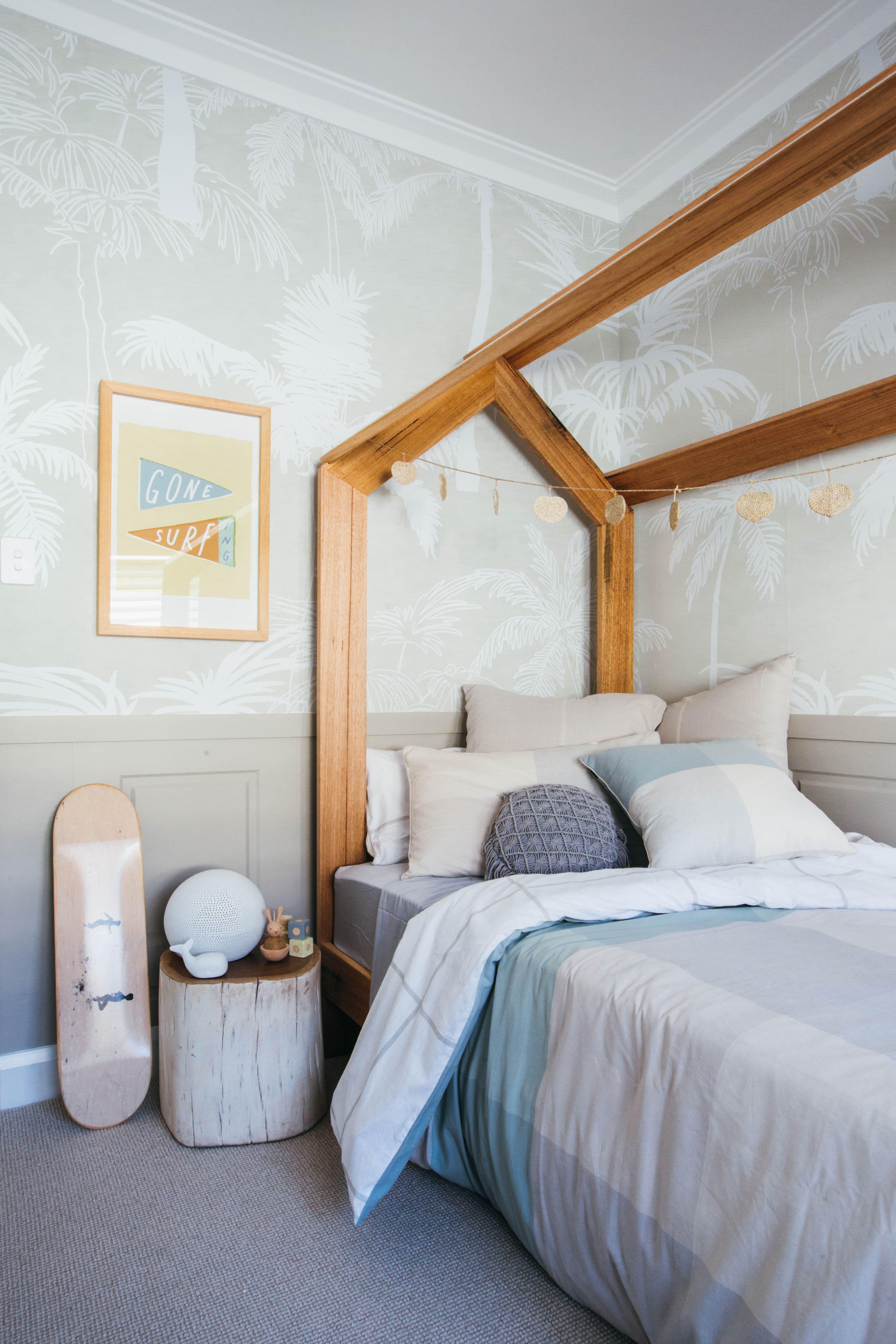 Loughlin Furniture Kids \'house\' timber bed. Kyal & Kara Long Jetty ...