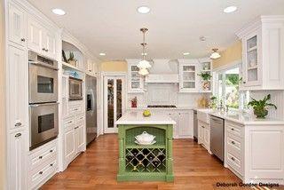 French Country Kitchen - traditional - kitchen - san diego - by Deborah Gordon Designs