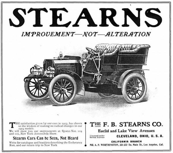 The F.B. Stearns Co. ~ Cleveland, Ohio