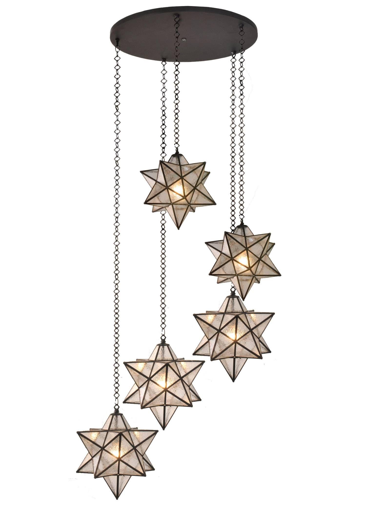 Modern Small Moravian Star Pendant Light Of Meyda Lighting 99178 45