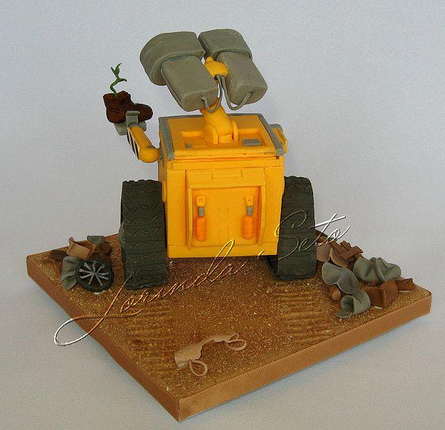 Wall-e Cake, rear view | Flickr - Photo Sharing!