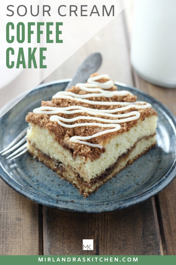 Sour Cream Coffee Cake Recipe Coffee Cake Cake Recipes Yummy Cakes