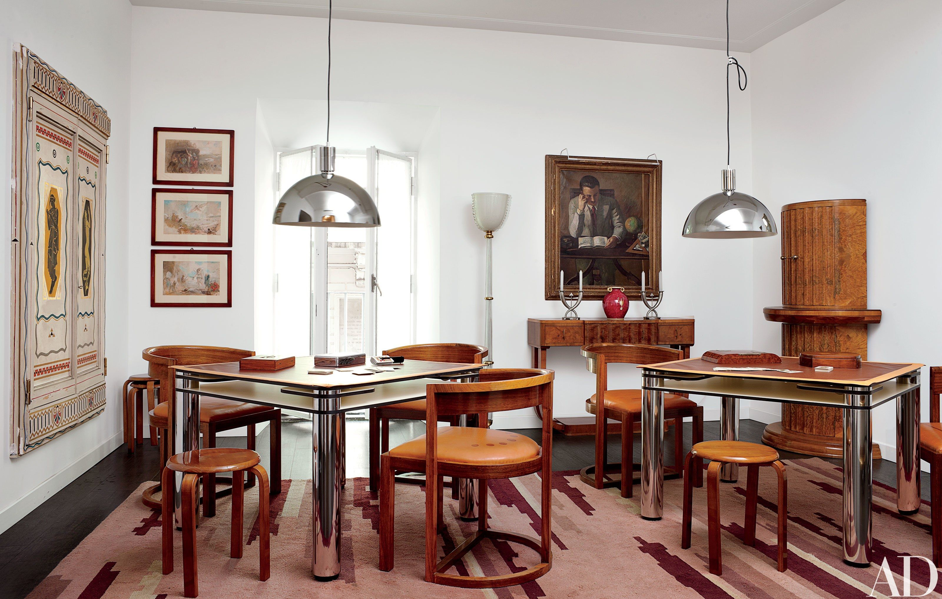 Carla Fendi S Eclectic Apartment In Rome Highlights Her