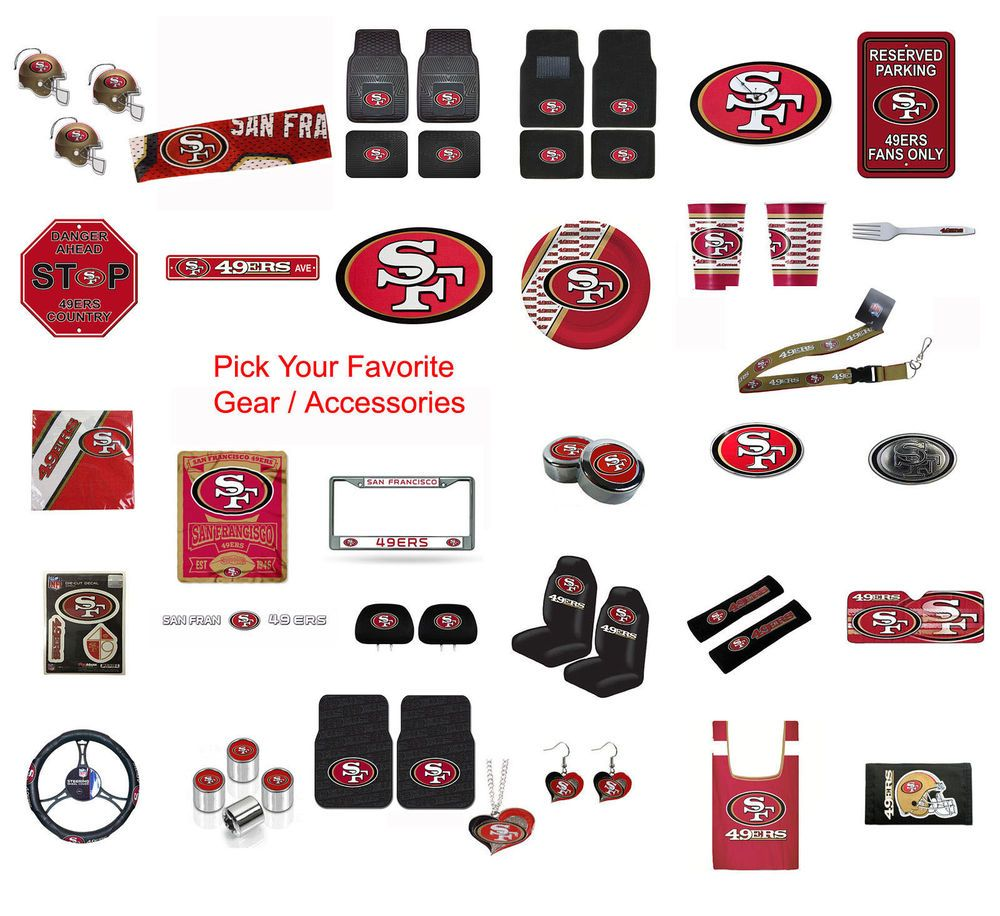 the latest 1aa48 22ba4 Brand New NFL San Francisco 49ers Pick Your Gear ...