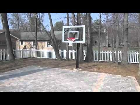 Backyard Basketball Court Options | Home Court Hoops