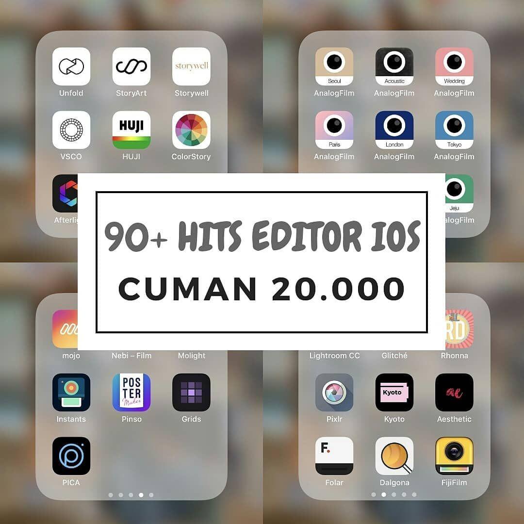 Aplikasi Untuk Mengedit Foto Di Iphone