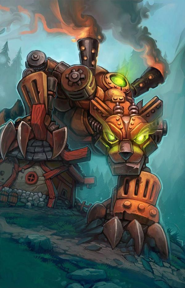 MechBearCat Hearthstone Wiki catwiki (With images