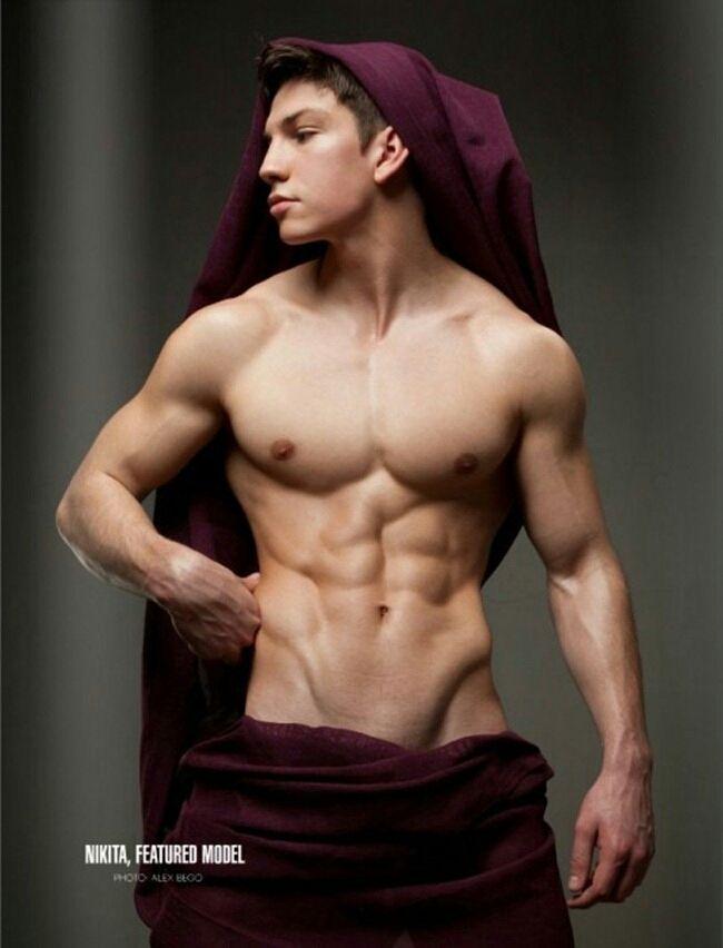 male model body massage naked