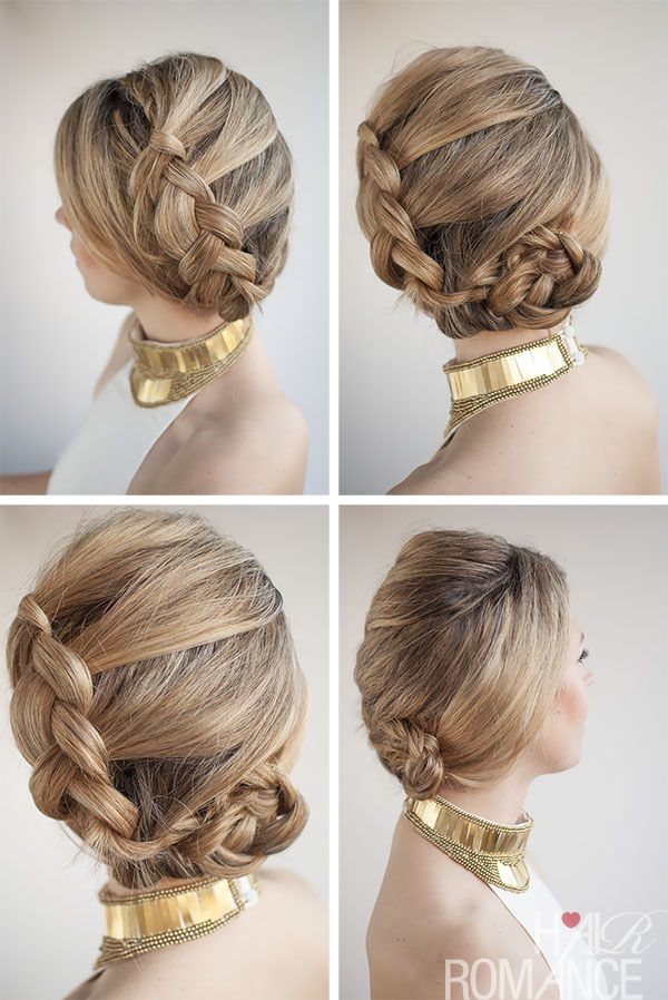Magnificent 1000 Images About 30 Buns In 30 Days On Pinterest French Braid Hairstyle Inspiration Daily Dogsangcom