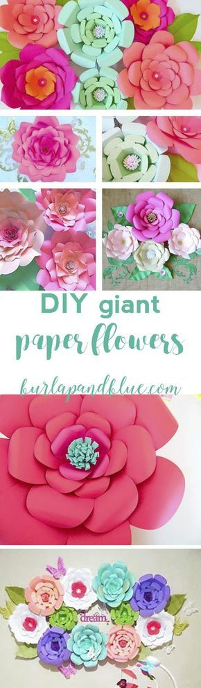 How to make paper flowers giant paper flowers nurseries baby and how to make giant paper flowers perfect for nurseries baby showers wedding decor and more mightylinksfo
