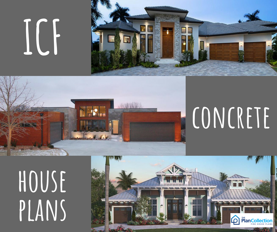 Among The Advantages Of These Icf And Concrete House Plans Is The Impressive Strength And Reliability That Co House Plans Concrete House Building Plans House