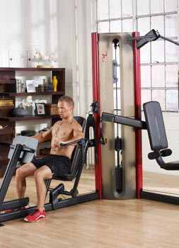A Sleek Set Up For Any Home Or Apartment The Freemotion Weight Station Has What You Need To Look Your Best No Battling For A Space At Home Gym Gym Setup