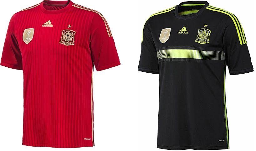 new product a1b00 5213f world cup 2014 jerseys - ESPAÑA | JERSEYS | World cup teams ...
