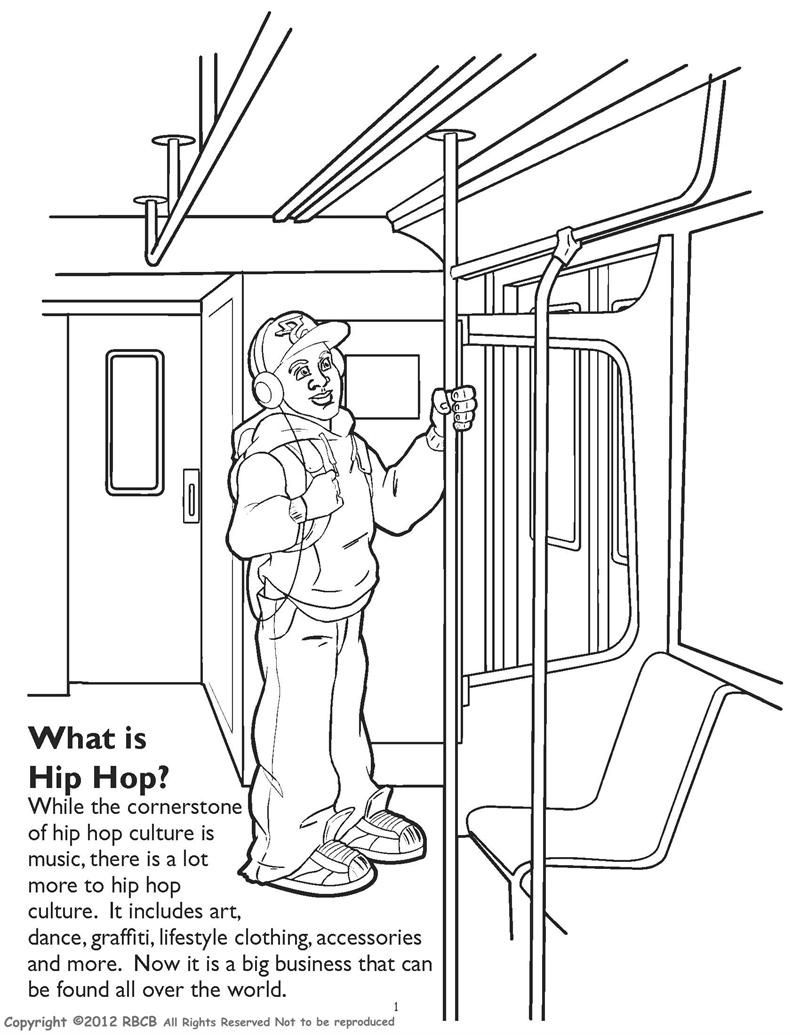 WHAT IS HIP HOP? | Hip Hop Coloring Book compiled by Jamee Schleifer ...