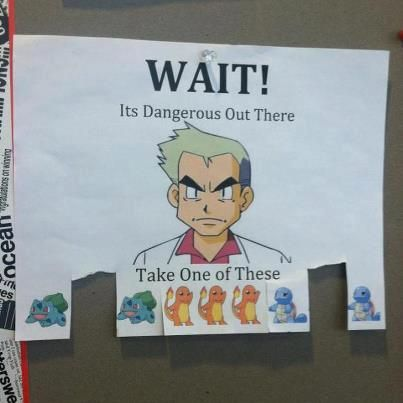 i should put this up in halls on campus....
