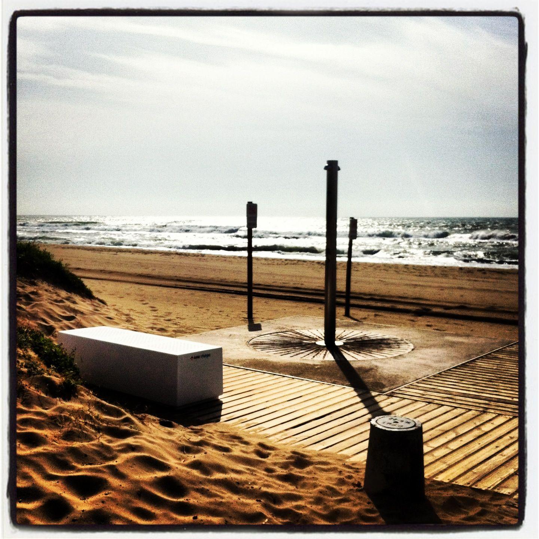 Geometría en la playa