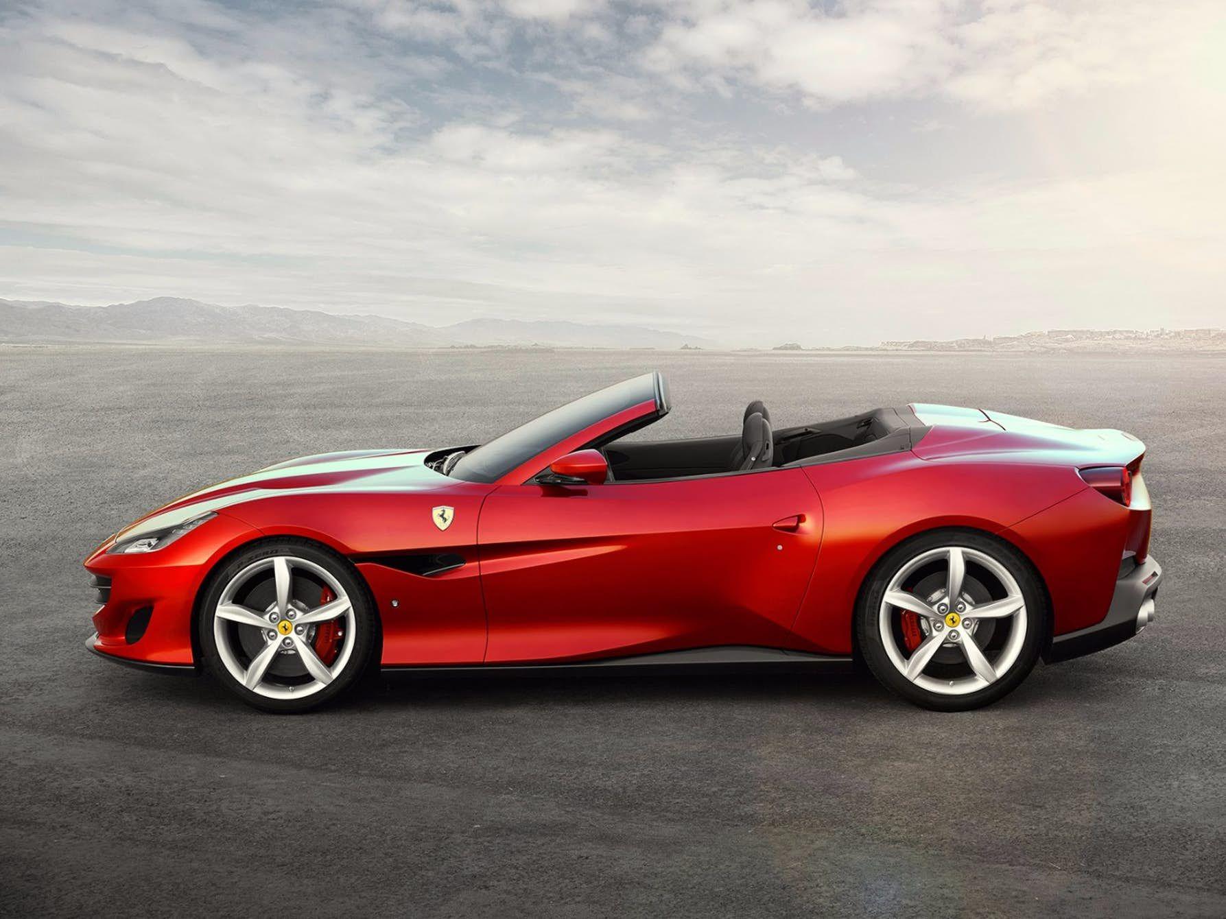 Ferrari Announces Gorgeous New 591 Horsepower Portofino Convertible New Ferrari Sports Cars Luxury Ferrari