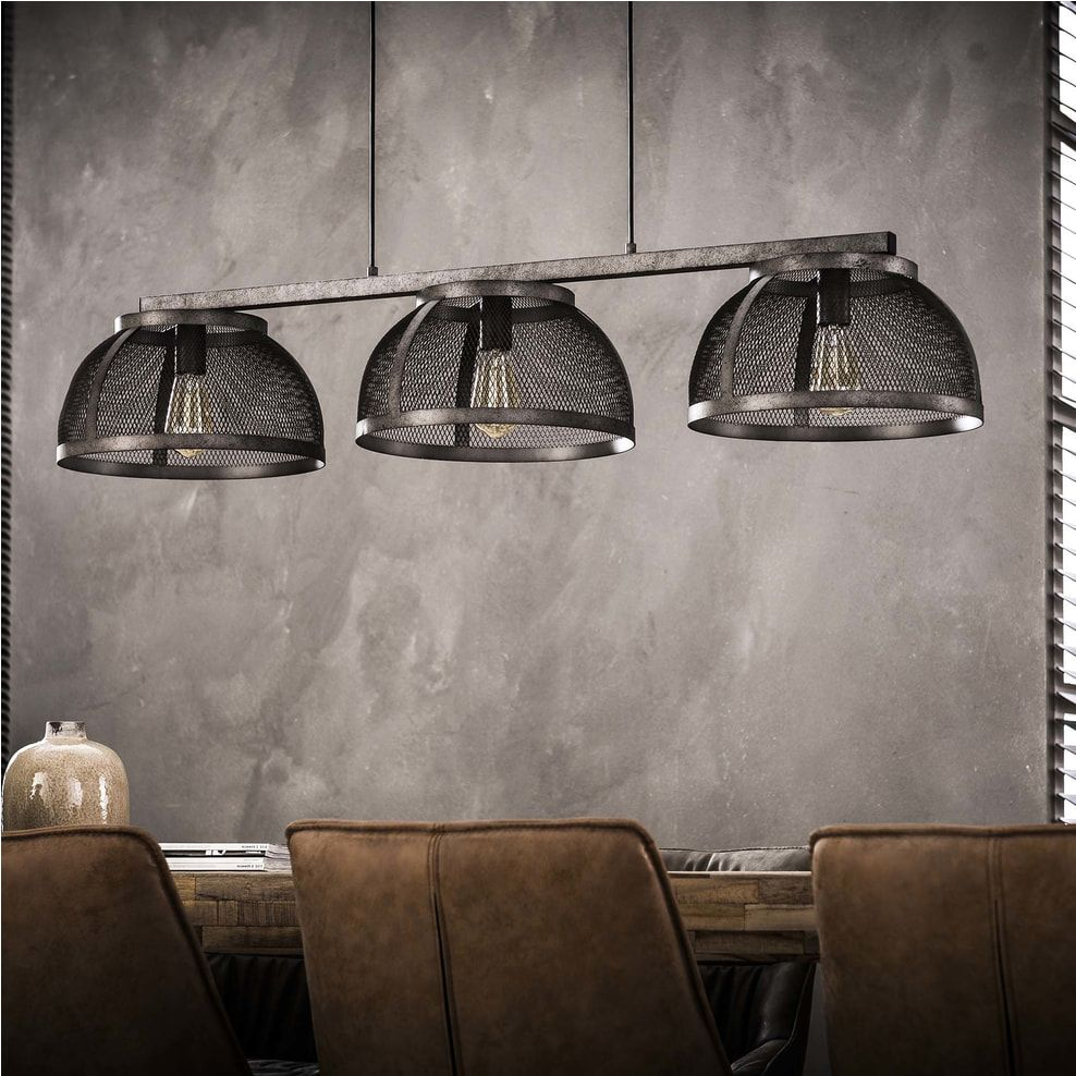 Industriele Hanglamp Lee 3 Lamps O35cm Aviation Decor Pendant Light Ceiling Lights