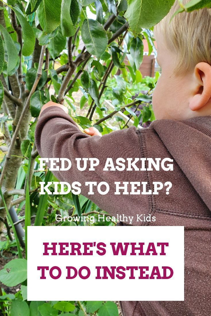 Garden Chores For Kids - Growing Healthy Kids