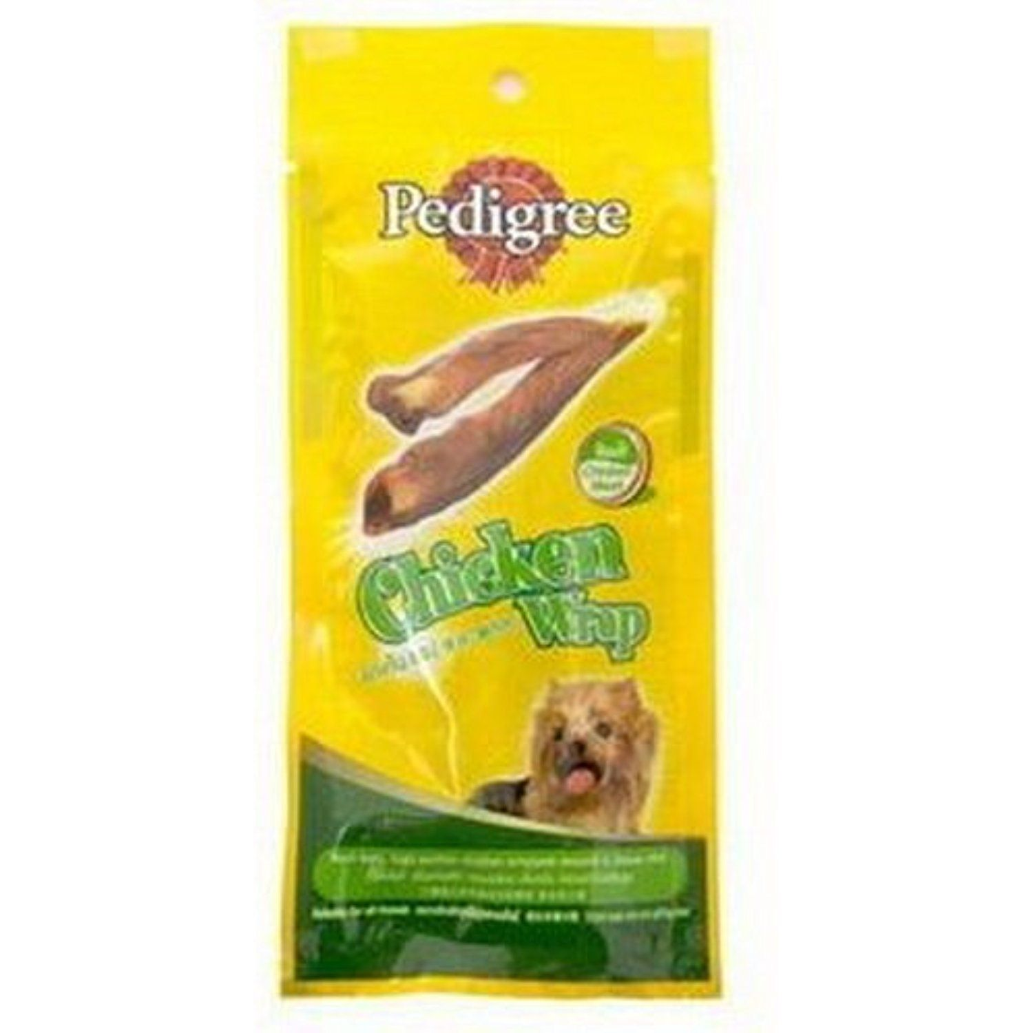 Pedigree Delight Chicken Wrap Snack For Dog 25 G Made In Thailand