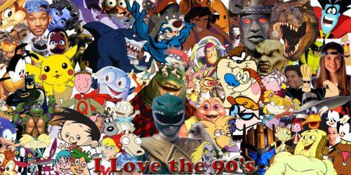 Childhood Cartoon Characters 90s : S collage childhood pinterest and