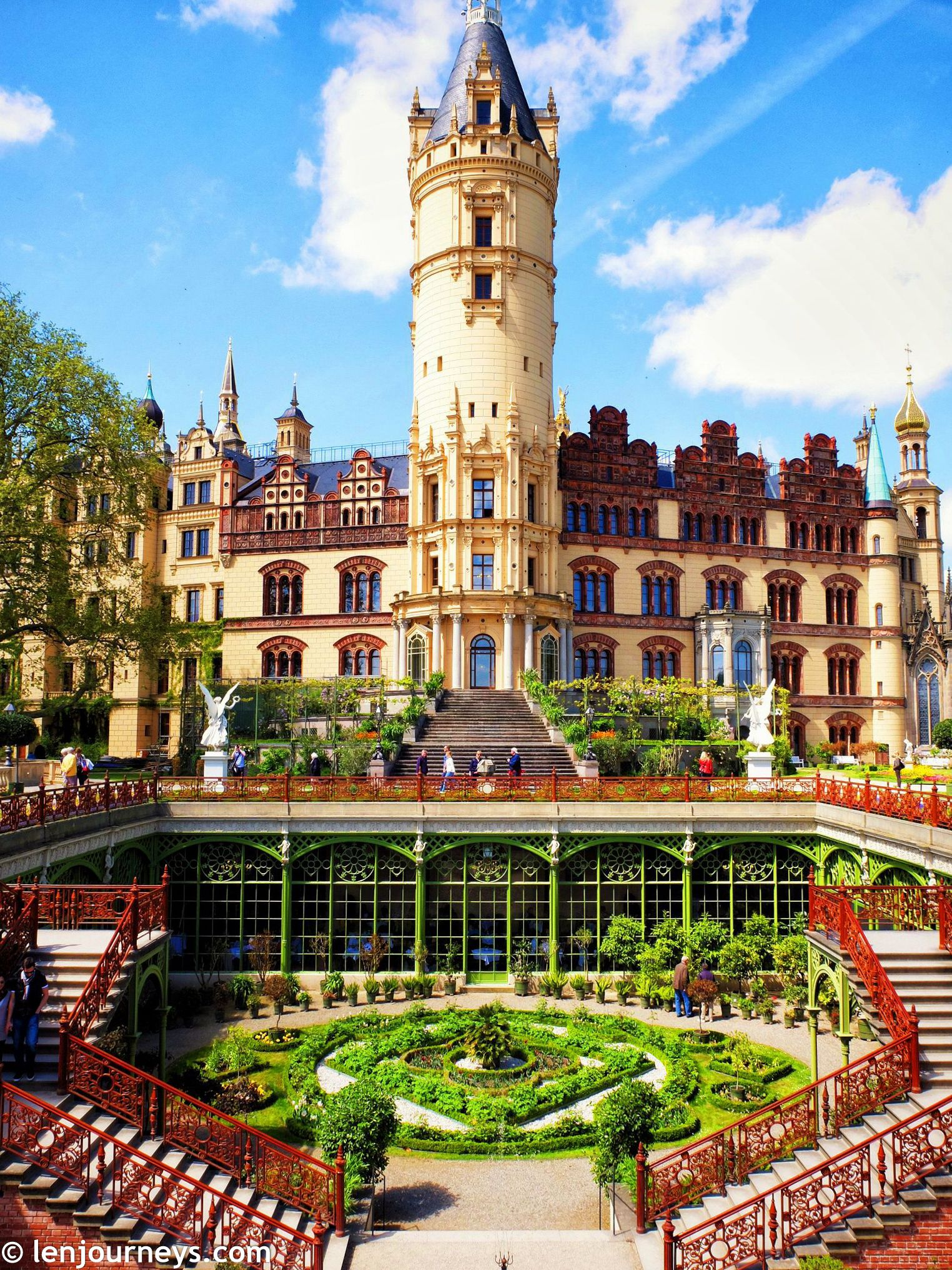 Schwerin Palace Tower Fairytale Archilovers Architecture Palace Schwerin Germany Travel Travelblogger Schwerin Day Trip Trip
