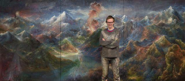 TAMK Mediapolis: Tamkin kuvataiteen koulutusohjelman maalauksen opettaja Petri Ala-Maunus voitti Turku biennaalin yleisöäänestyksen