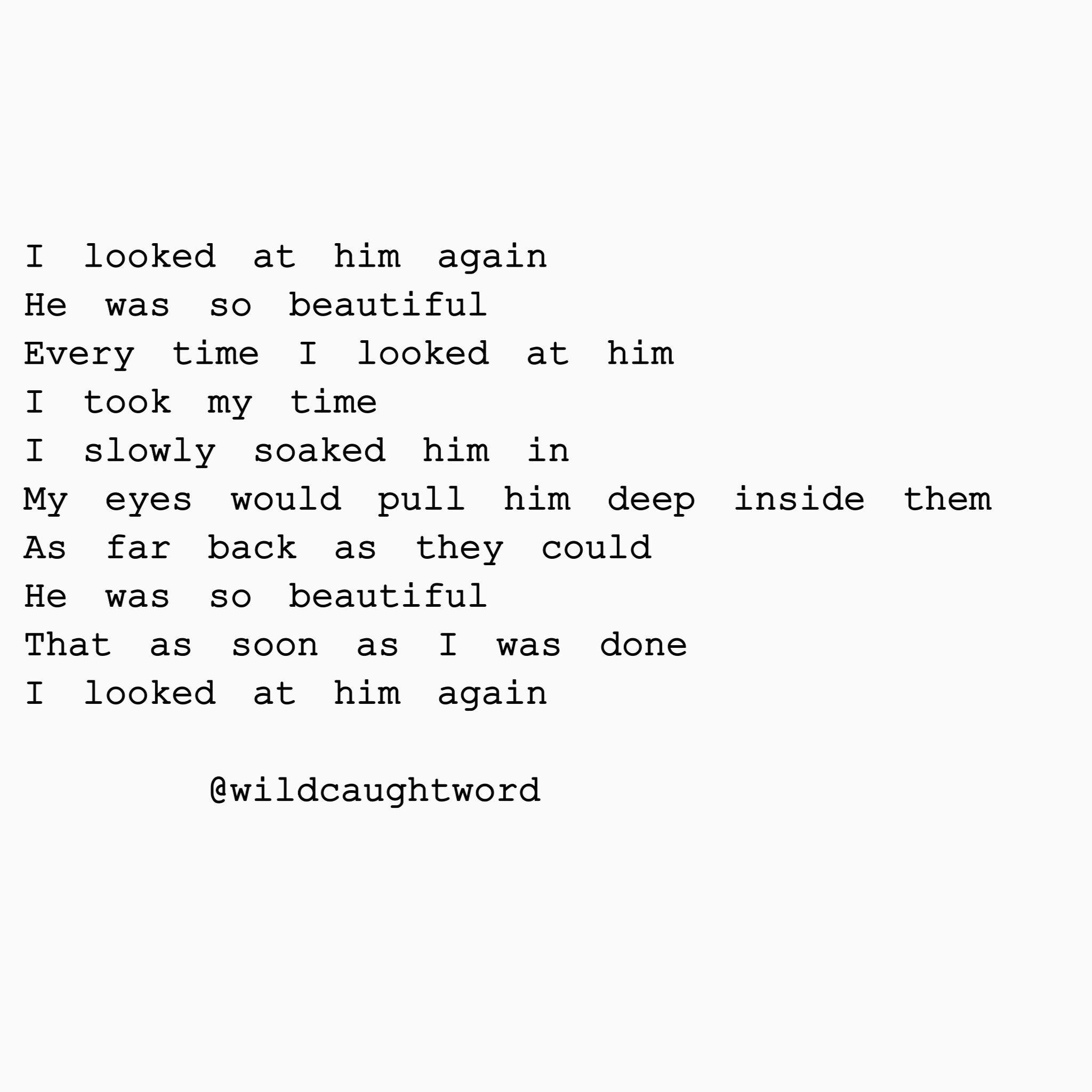 Ig) @wildcaughtword Poetry, poem, quote, words, love, beautiful ...