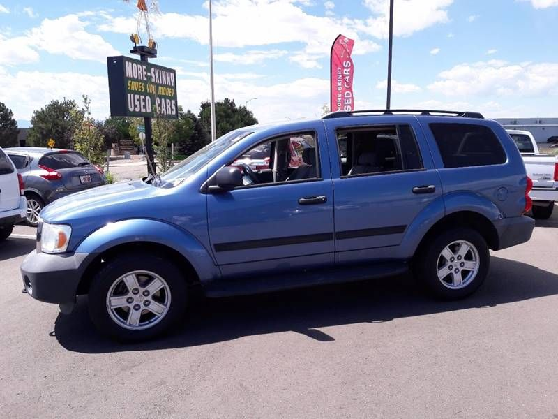 Cars For Sale In Pueblo >> 2008 Dodge Durango Sxt 4dr Suv 4wd For Sale By More