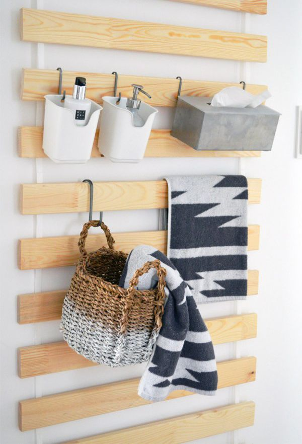 IKEA Bed Slats: Wall Hanging Organizers For Every Room | Home Design And  Interior