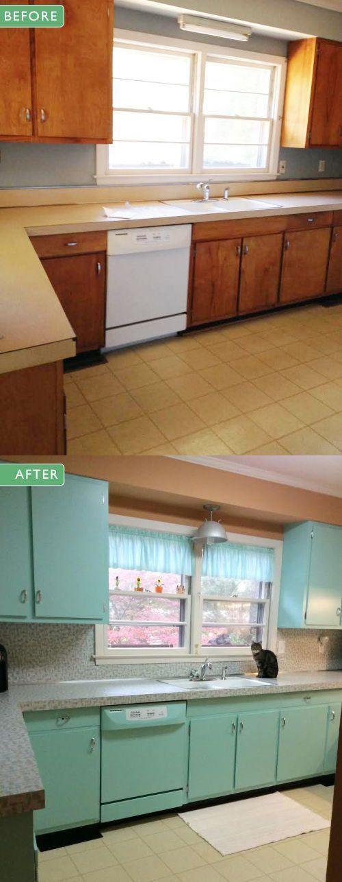 50s Kitchen retro kitchen remodel: | stuff for the home | pinterest | 1950s