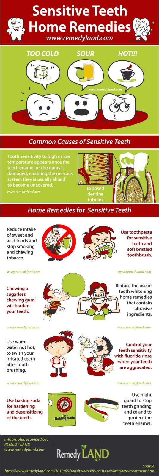 Home remedies for strong teeth