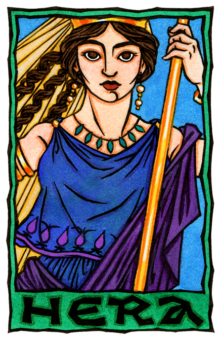 Hera Queen Of The Olympian Gods Greek Gods And Goddesses Hera Goddess Greek Mythology Art