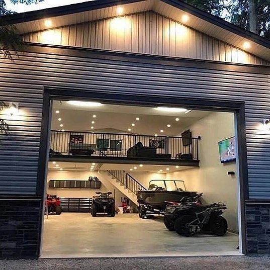 Four Important Design Considerations When Planning A Home Bar Man Cave Home Bar Man Garage Modern Garage Garage Design