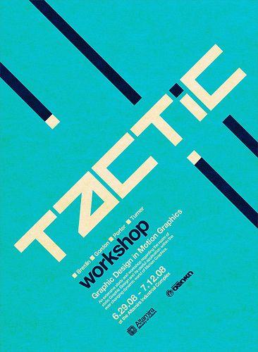 Tactic Poster | Designer: Untitled-1 - http://www.networkosaka.com