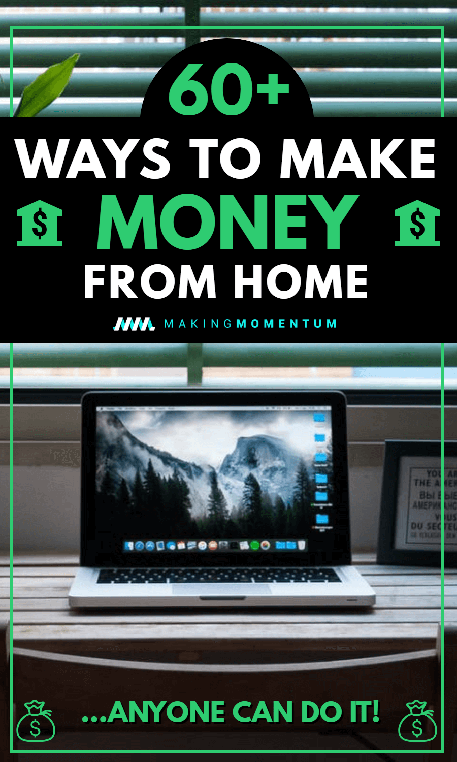 60 Ways To Make Money Online From Home In Canada (Earn Extra Cash) #stayathome