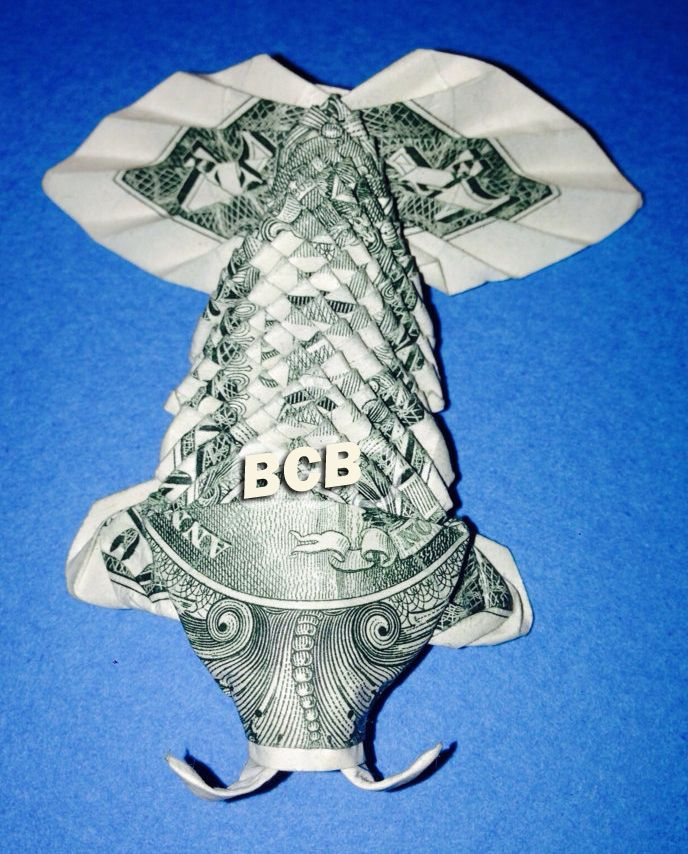beautiful money origami art pieces many designs made of