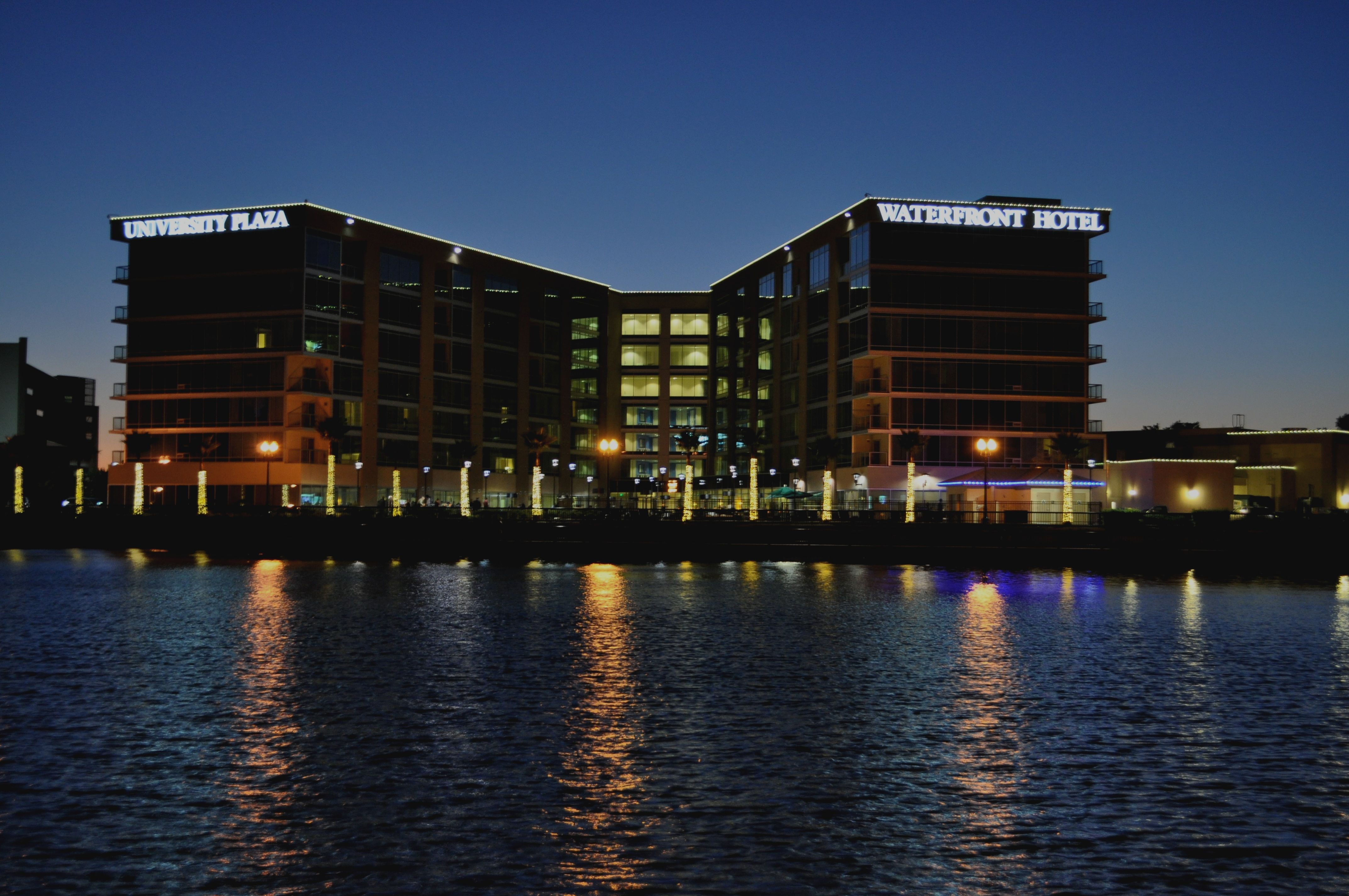 University Plaza Waterfront Hotel On The Downtown Stockton Ca