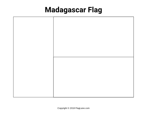 Free Printable Madagascar Flag Coloring Page Download It At Https Flaglane Com Coloring Page Malagasy Fla Flag Coloring Pages Madagascar Flag Coloring Pages