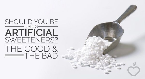 Should You Be Using Artificial Sweeteners? The Good and The Bad - Positive Health Wellness